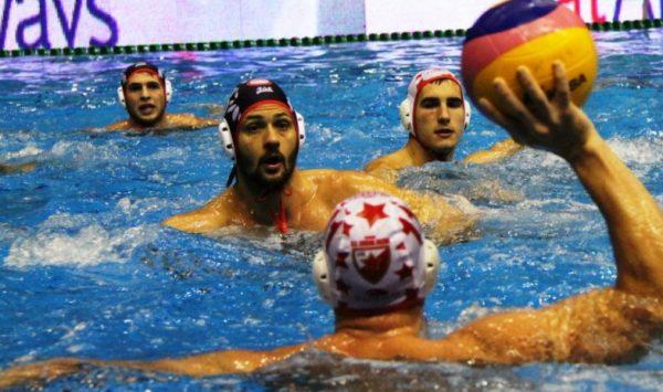 Sa utakmice Zvezda - Olimpijakos (Foto: Vaterpolo vesti)